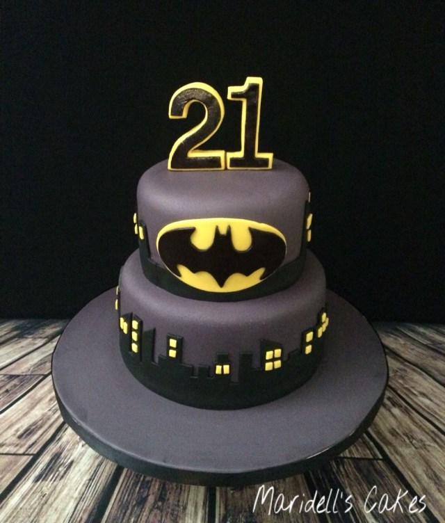 Awesome 32 Pretty Photo Of Batman Birthday Cakes Birijus Com Personalised Birthday Cards Veneteletsinfo