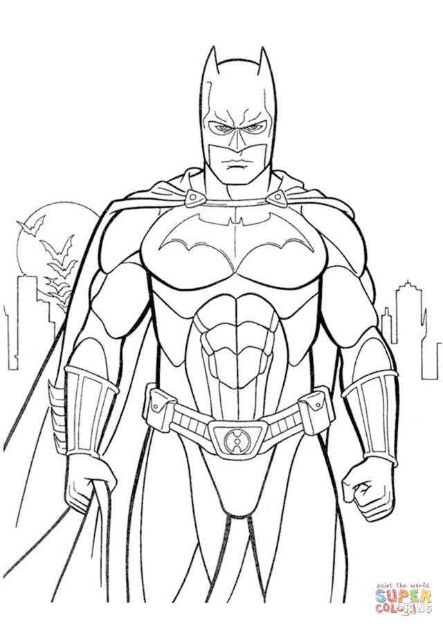 Batman Coloring Page Batman Coloring Pages Batmanloring Page Free Printableloring Pages