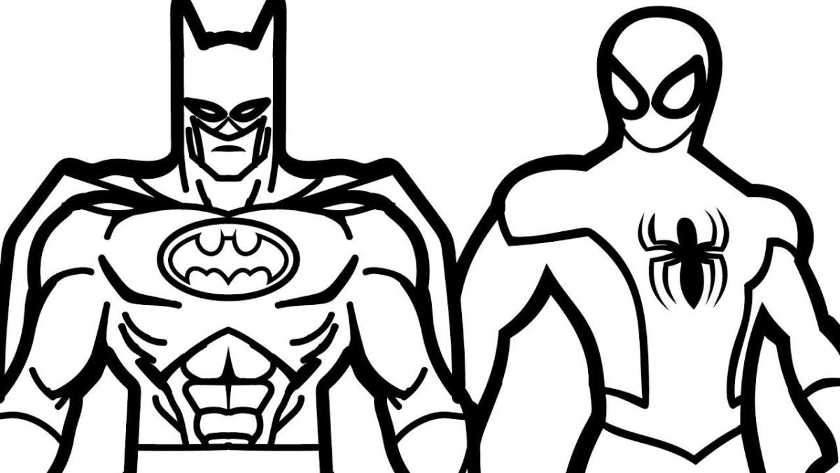 Batman Coloring Page Batman Coloring Pages Online At Getcolorings ...