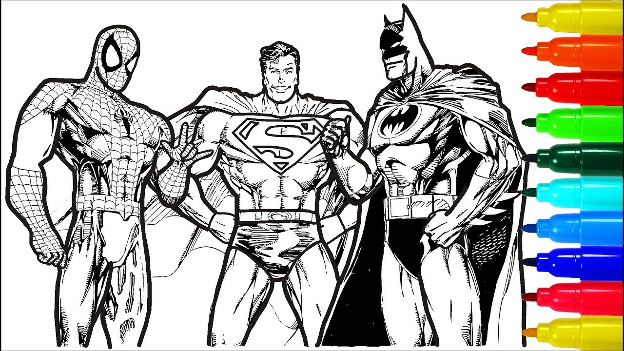 This is an image of Superman Printable Coloring Pages with regard to realistic