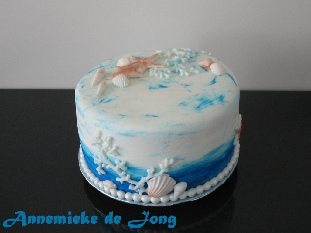 Swell Beach Themed Birthday Cakes Beach Theme Birthday Cake Cakecentral Funny Birthday Cards Online Inifofree Goldxyz