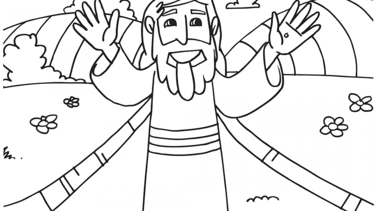 Beatitudes Coloring Pages Coloring Pages The Beatitudes For Kids ...