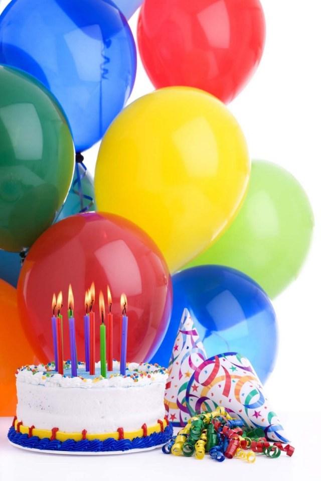 Birthday Cake And Balloons Birthday Cake And Balloons Balloons Pinterest Happy