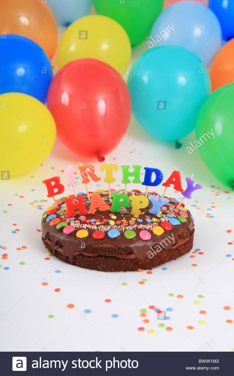 Marvelous Birthday Cake And Balloons Birthday Cakes Happy Birthday Cake Funny Birthday Cards Online Elaedamsfinfo