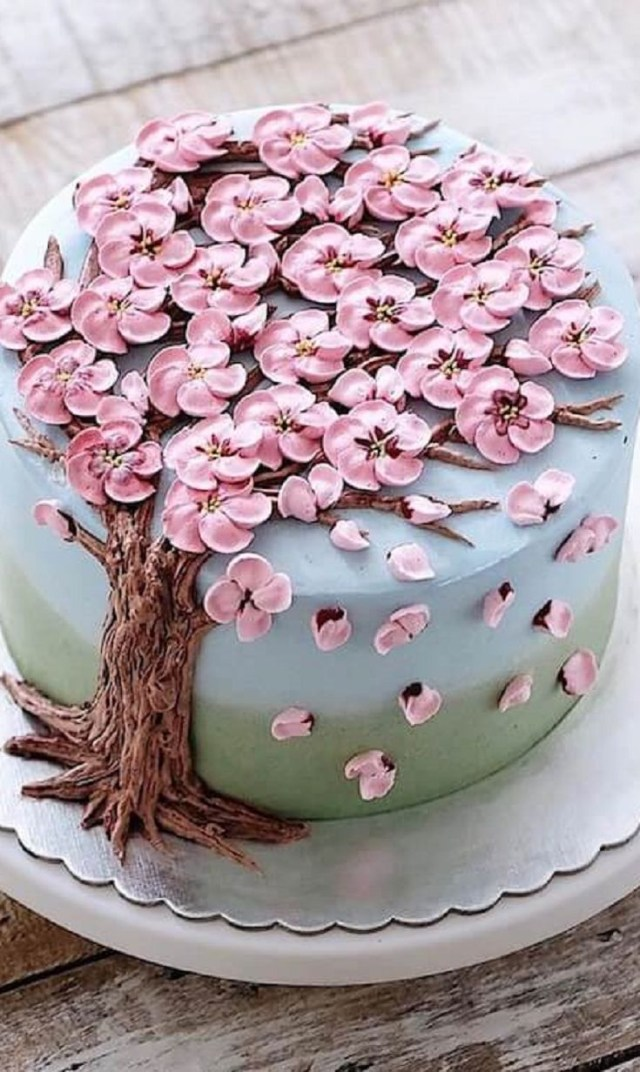 Birthday Cake Flowers 30 Beautiful Flower Cakes To Celebrate Spring In The Most Yummy Way