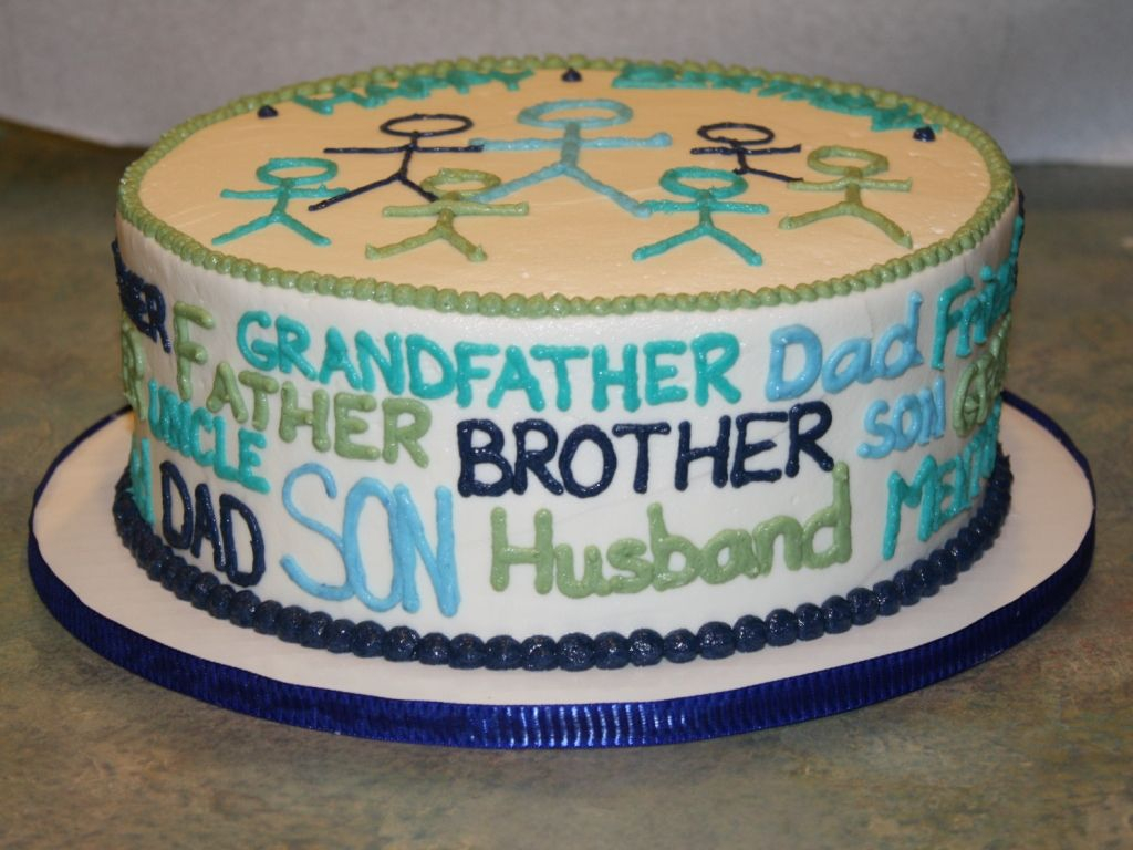 Birthday Cake For Dad Husband Birthday Cake Great Decorating Idea