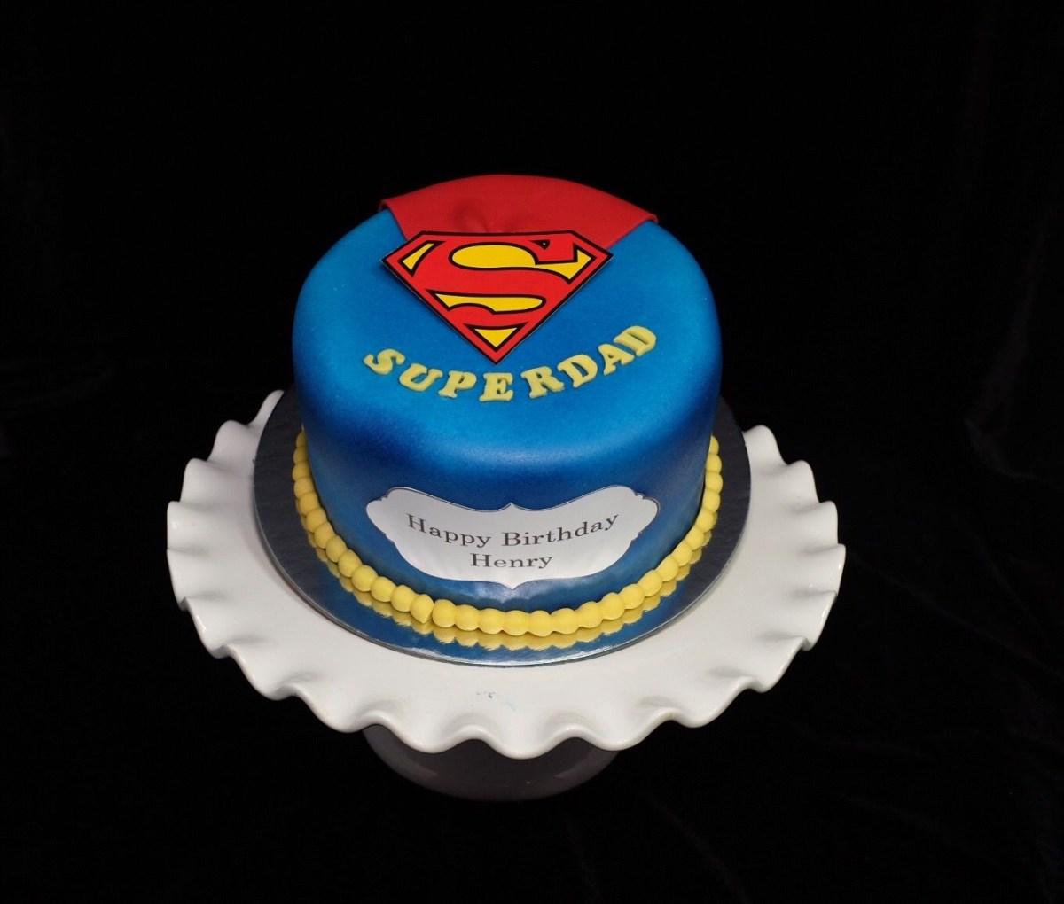 Surprising Birthday Cake For Dad Superdad Cake Father Day Pinterest Cake Dad Funny Birthday Cards Online Alyptdamsfinfo