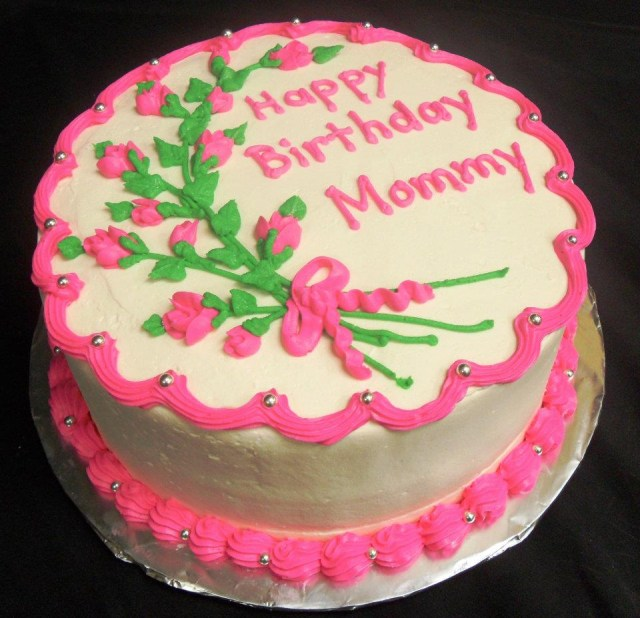 Astounding 27 Pretty Photo Of Birthday Cake For Mom Birijus Com Funny Birthday Cards Online Fluifree Goldxyz