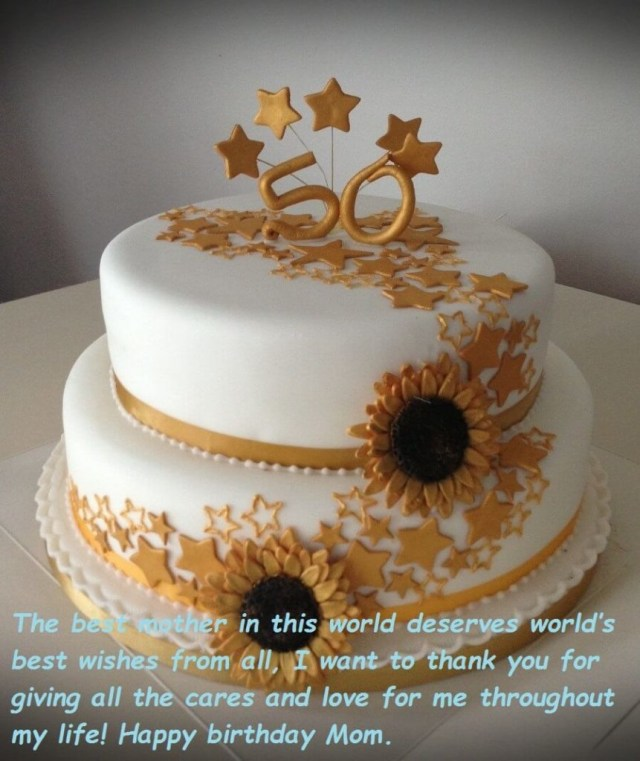 Birthday Cake For Mom Birthday Cake Wishes Images For Mom