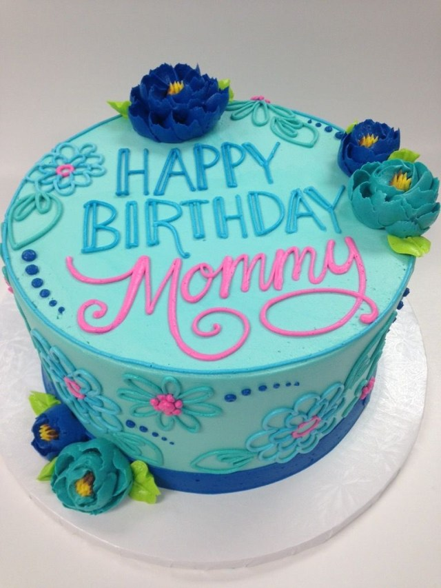 Remarkable 27 Pretty Photo Of Birthday Cake For Mom Birijus Com Personalised Birthday Cards Arneslily Jamesorg