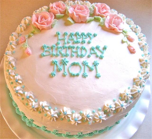 Birthday Cake For Mom Mom Birthday Cakes