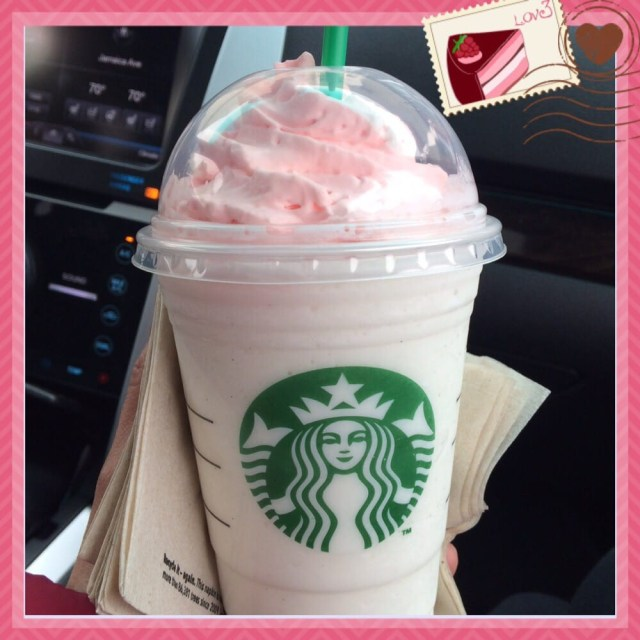 Birthday Cake Frappe Limited Edition Birthday Cake Frappuccino Yelp