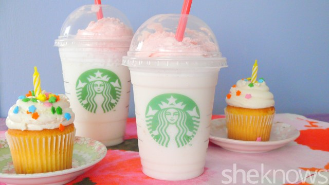 Birthday Cake Frappe Starbucks Birthday Cake Frappuccino We Tried It Is It Worth It
