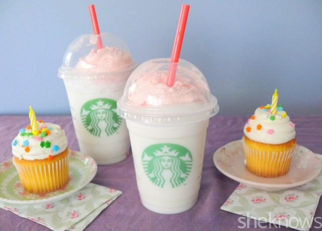 Birthday Cake Frappuccino Recipe Starbucks Birthday Cake Frappuccino We Tried It Is It Worth It