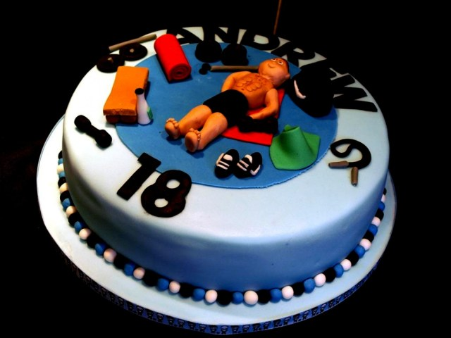 Birthday Cake Ideas For Boys Very Good 18th Males 11 Cupcakes