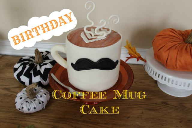 Birthday Cake In A Mug Coffee Birthday Cakes