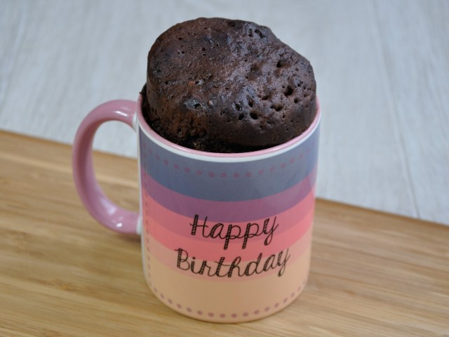 Birthday Cake In A Mug Happy Birthday Lovely Lady Best Friends Mug Cake Kit Cake Cetera