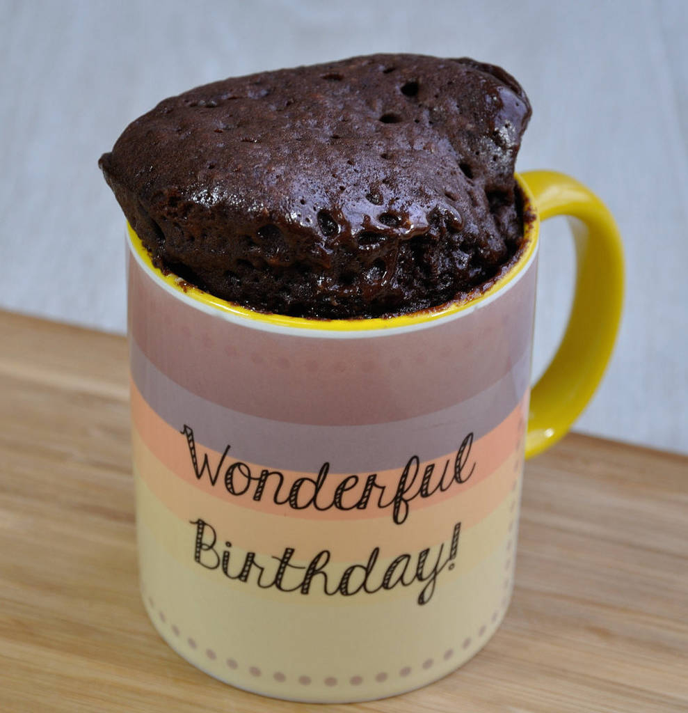 Birthday Cake In A Mug Happy And For Dad Brother Son Lily Grace