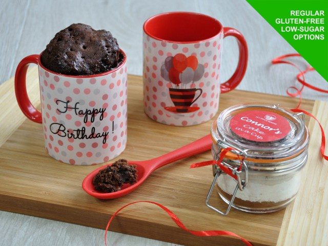 Birthday Cake In A Mug Happy Birthday Mug Cake Kit Cake Cetera Cake Delivery Website