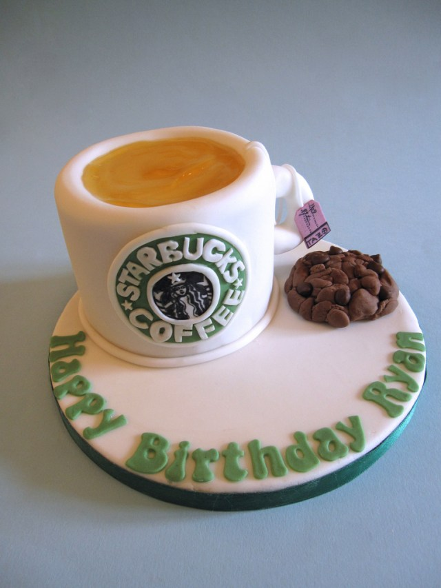 Birthday Cake In A Mug Starbucks Mug Cake Happy Birthday Lovely Brother A Starbu Flickr
