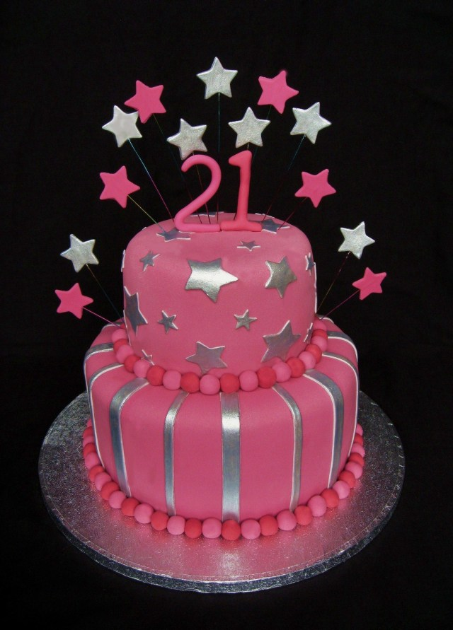 Birthday Cakes For Ladies 21st Birthday Cake Girls 21st Birthday Cake Cakes Pinterest