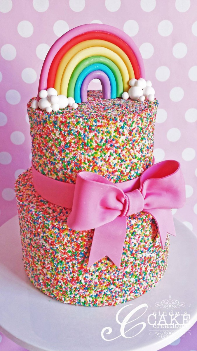 Strange Birthday Cakes For Little Girls 10 Totally Gorgeous Birthday Cakes Personalised Birthday Cards Veneteletsinfo