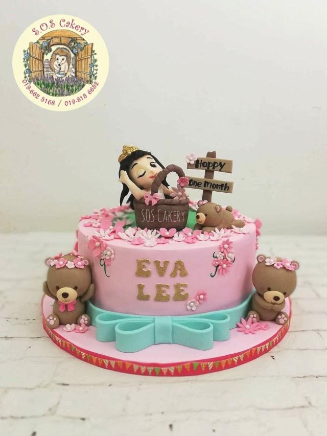 Birthday Cakes For Little Girls Sweet Little Girl Birthday Cake Sos Cakery