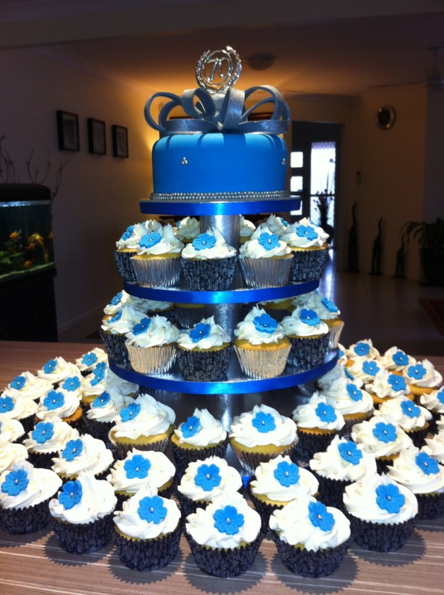 Awesome 21 Great Photo Of Blue Birthday Cakes Birijus Com Birthday Cards Printable Trancafe Filternl