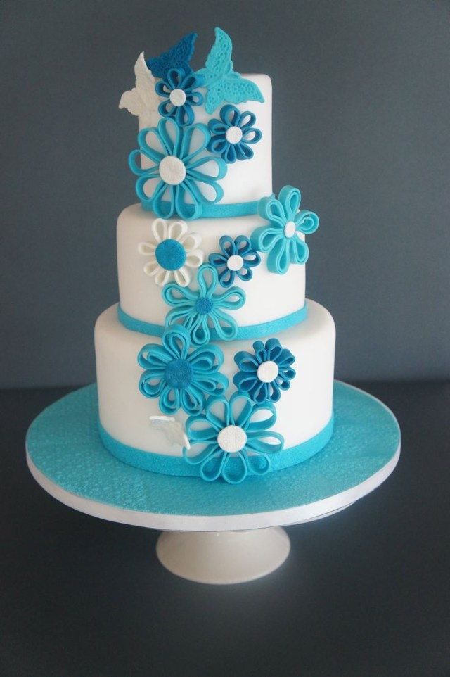 Blue Birthday Cakes Top 50 Unique For Boys And Men 9 Happy