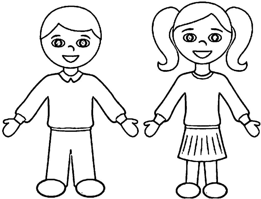 - Inspired Photo Of Boy And Girl Coloring Pages - Birijus.com