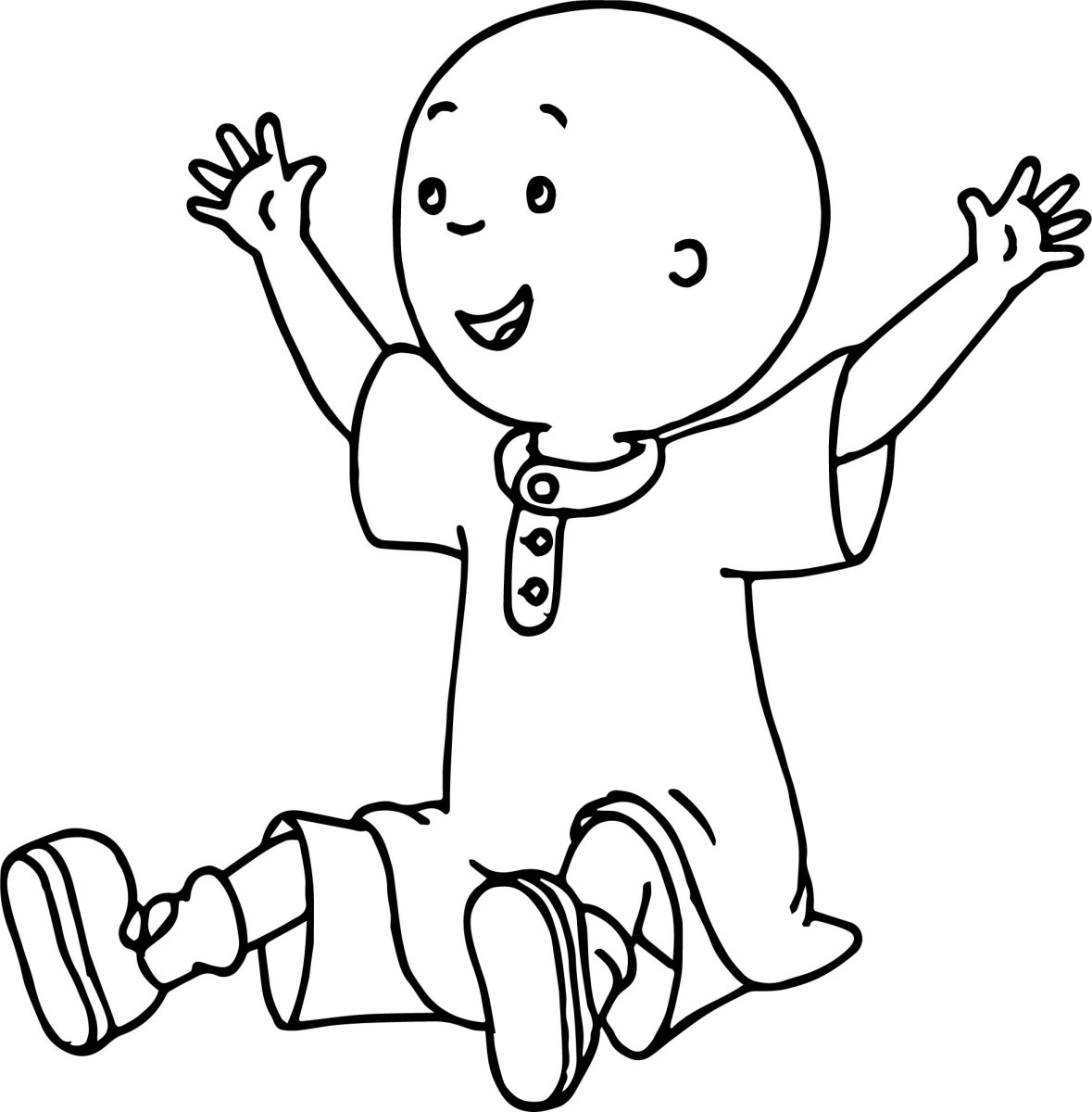 Caillou Coloring Pages   Coloringnori - Coloring Pages for ...
