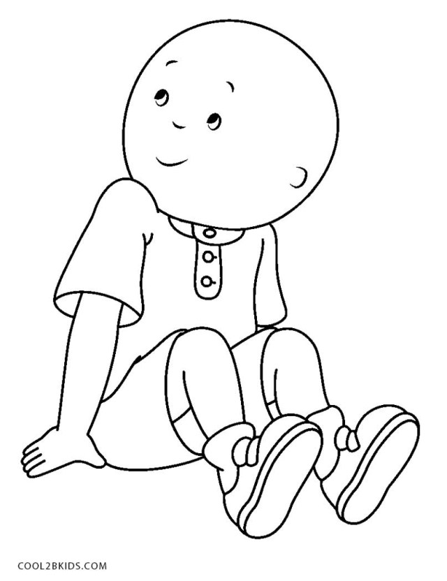 25 Inspired Picture Of Caillou Coloring Pages Birijus Com