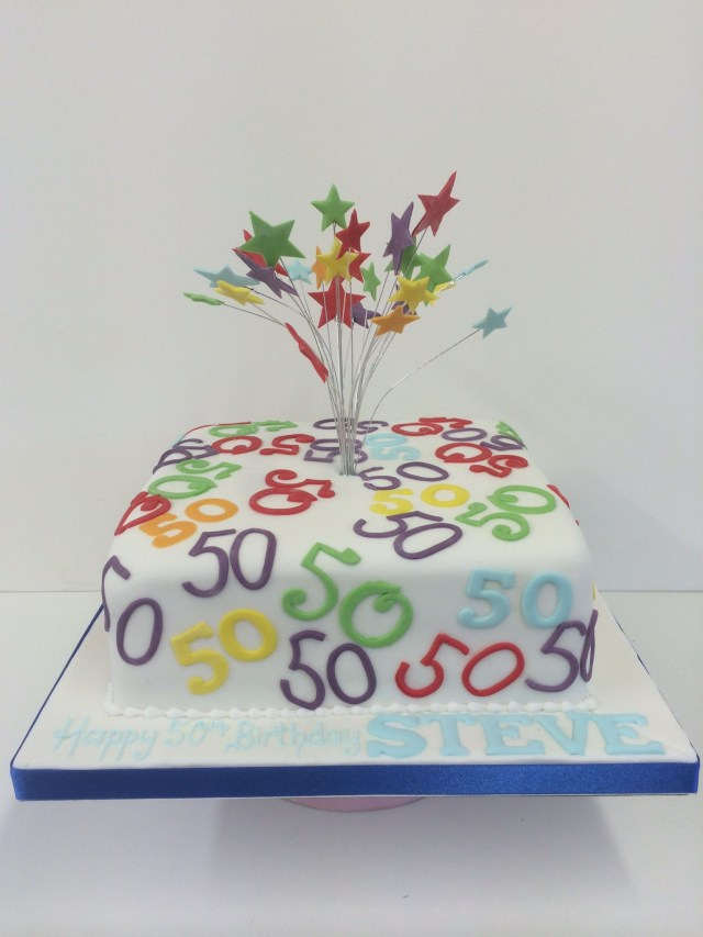 Cakes For 50Th Birthday Women Celebrations Cake Ideas Pinterest