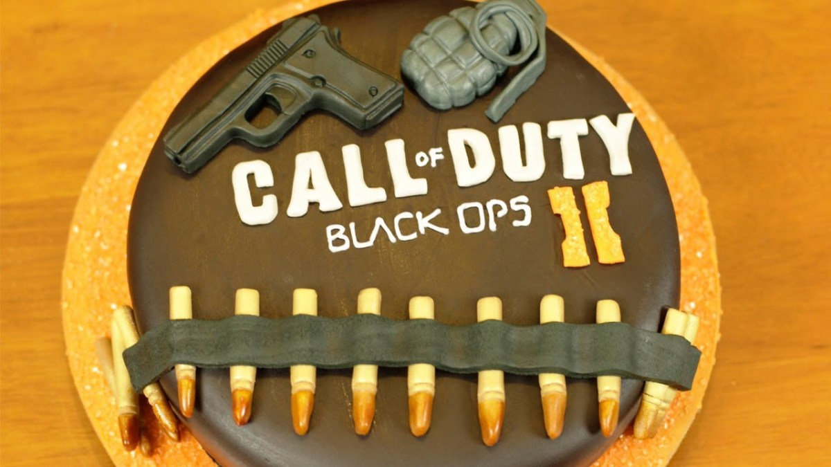 Amazing Call Of Duty Birthday Cake Black Ops 2 Cake Nerdy Nummies Youtube Funny Birthday Cards Online Inifofree Goldxyz