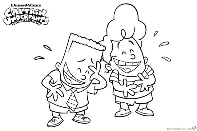 Captain Underpants Coloring Pages Captain Underpants Coloring Luxury Photography Category Coloring