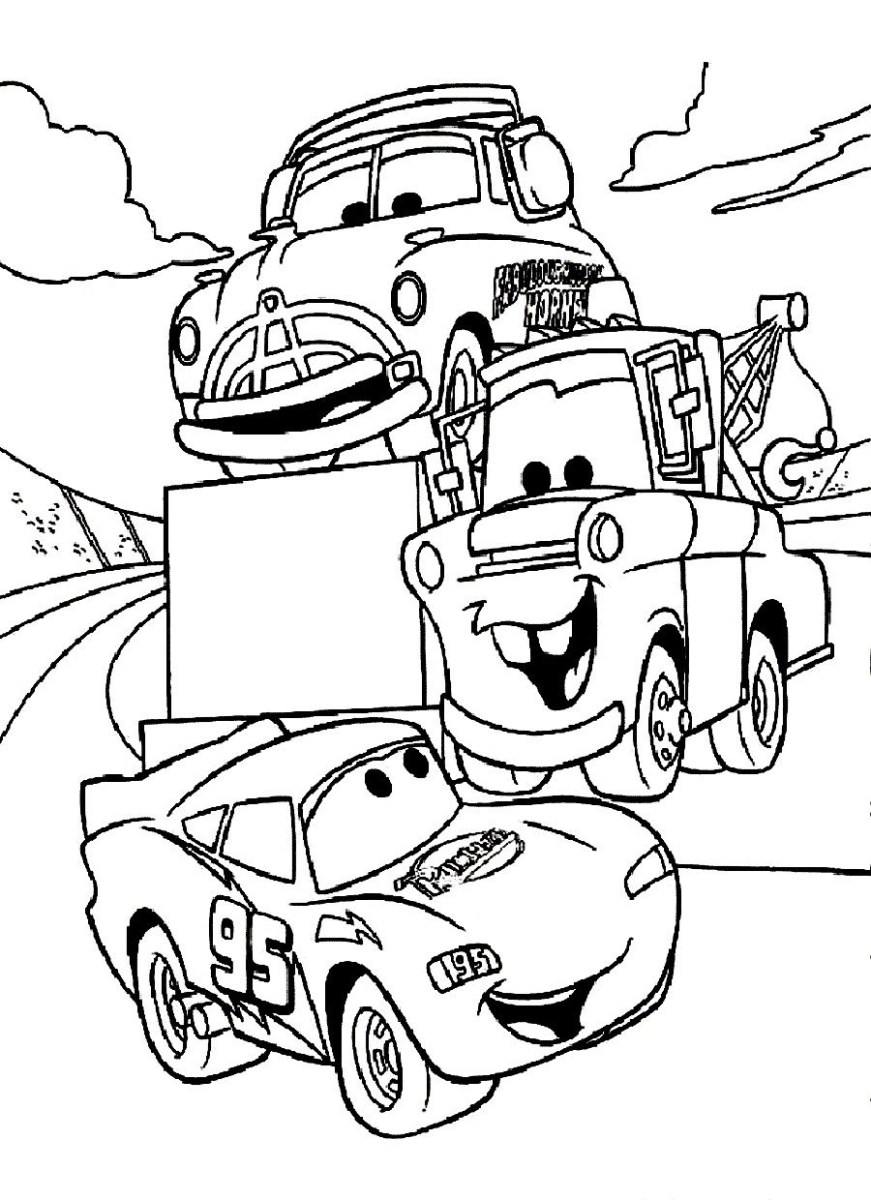 Car Printable Coloring Pages 22 Printable Cars Movie Coloring Pages  Collection Coloring Sheets - birijus.com