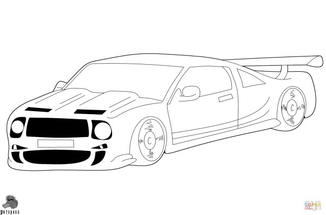 Car Printable Coloring Pages Race Car Coloring Page Free Printable Coloring Pages