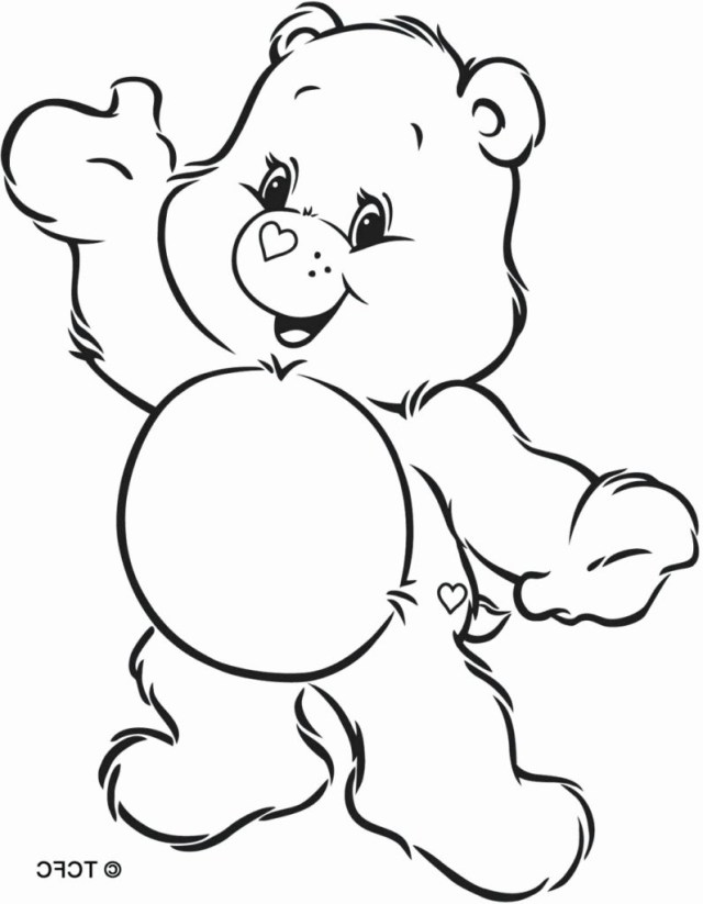 Care Bear Coloring Pages Bear Coloring Pages Care Bears Mst Dn Me 7961024 Attachments