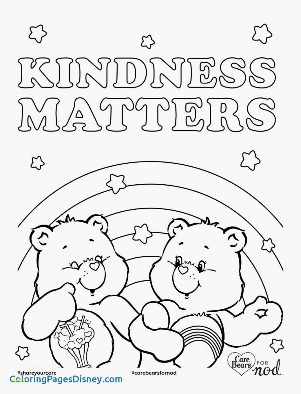- Care Bear Coloring Pages Care Bear Coloring Page Beautiful