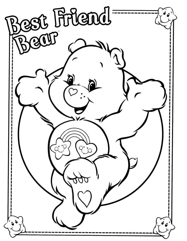 Care Bear Coloring Pages Care Bear Coloring Pages New Care Bears Coloring Pages Refrence