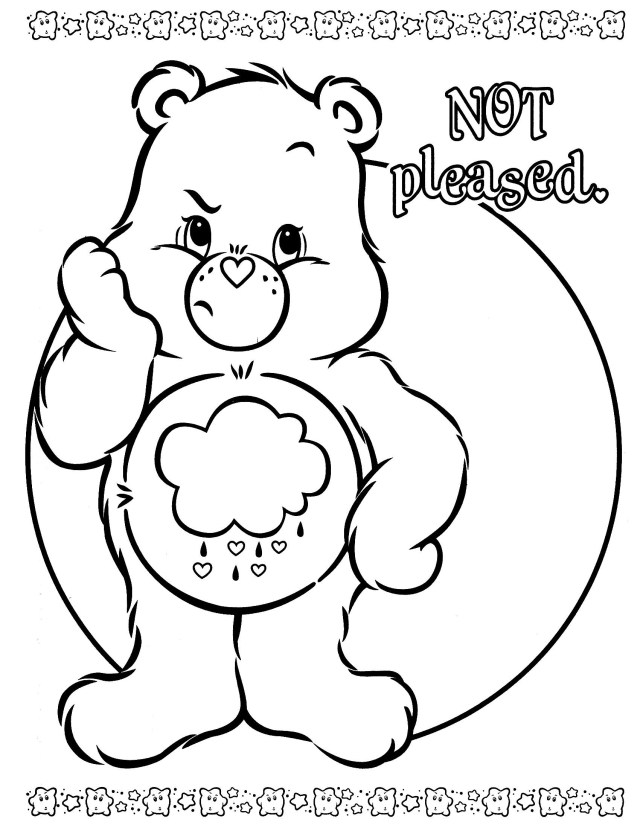 Care Bear Coloring Pages Care Bear Coloring Pages Save Bears Page Color For Kids 15082