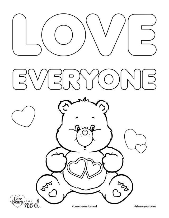 Care Bear Coloring Pages Care Bear Coloring Pages Sturdy Rainbow Care Bear Coloring Page