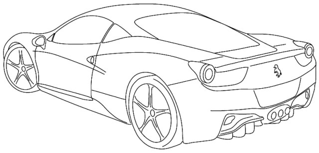 Cars Coloring Pages 25 Coloring Pages Sports Cars Download Coloring Sheets