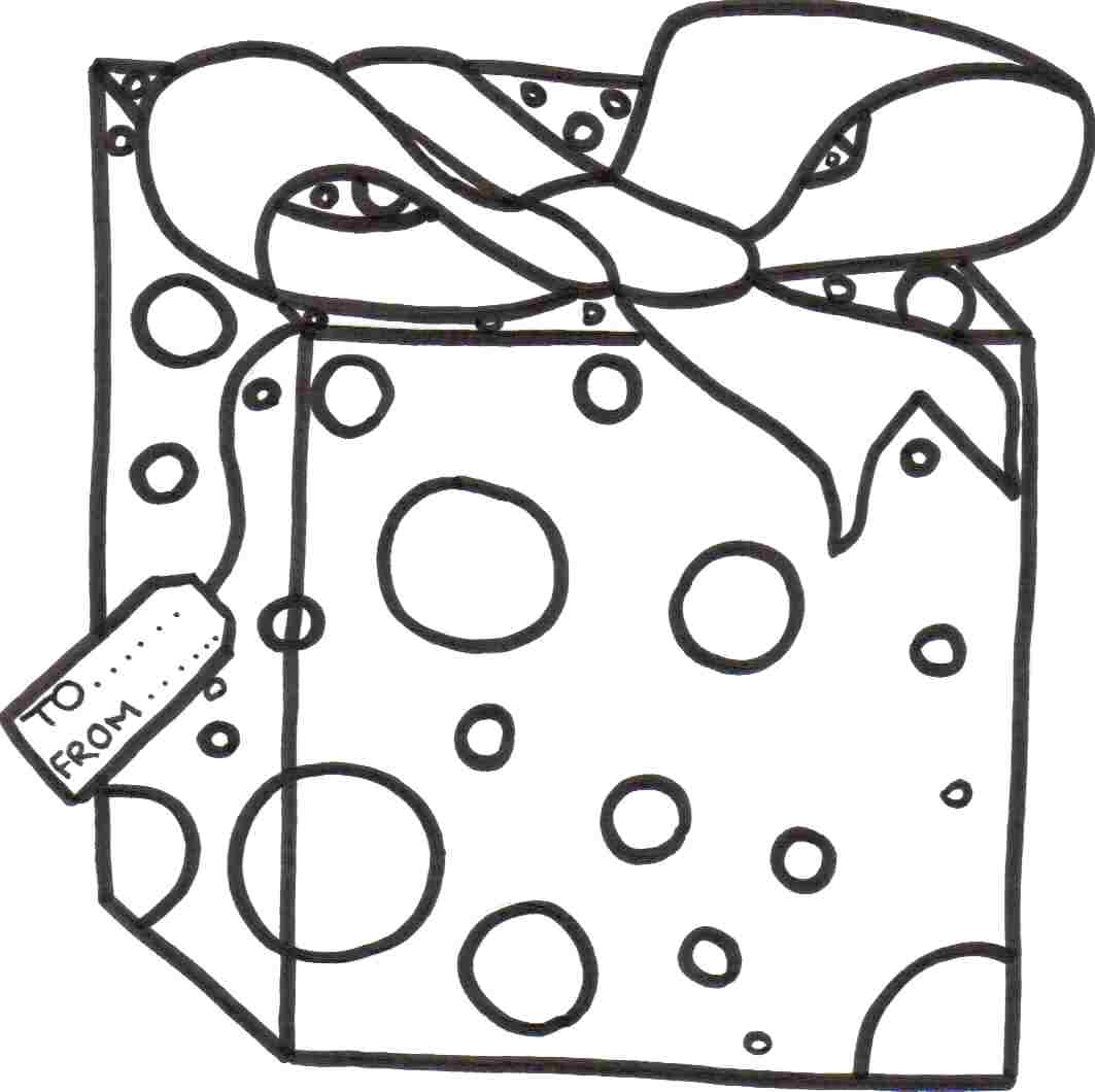 Presents Coloring Pages - Best Coloring Pages For Kids | 1060x1063
