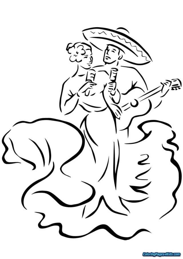 Cinco De Mayo Coloring Pages Free Printable Cinco Mayoring Pages For Kids Blast Fantastic To