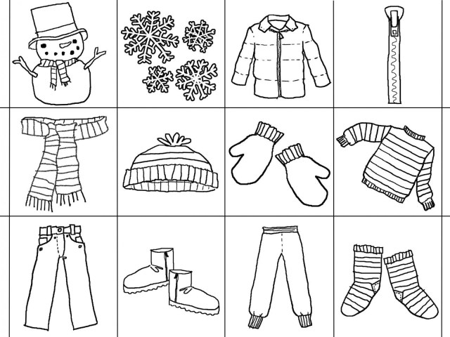 Clothes Coloring Pages Spring Clothes Coloring Pages Printable Coloring Page For Kids