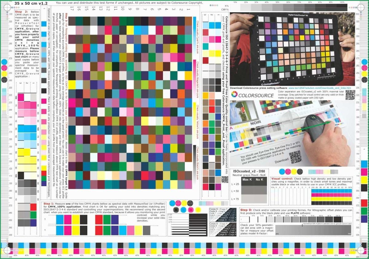 Color Printer Test Page Color Laser Printer Test Page Pdf ...