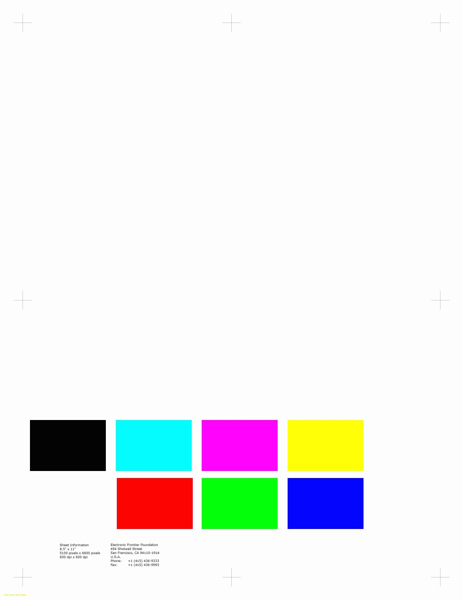 Color Printer Test Page Color Printer Test Page Pdf And