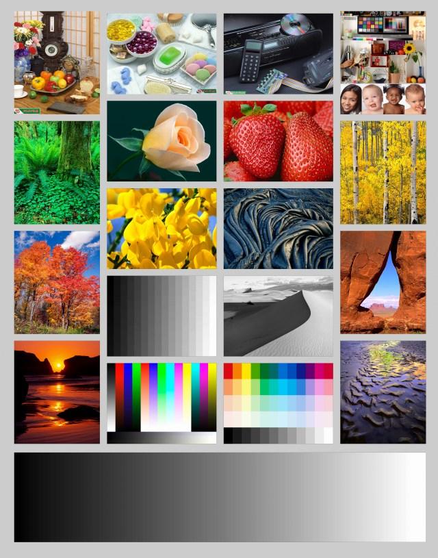 Color Printer Test Page Color Test Page Color Printing Test Page Printer Color Calibration