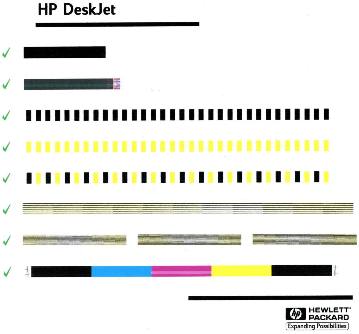 Color Printer Test Page Hp Color Printer Test Page Pdf